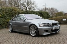 [E46] 2005 M3 CS - Silver Grey with Black Leather SOLD - The M3cutters - UK BMW M3 Group Forum E46 M3, Bmw E46, Bmw Classic, Bmw 3 Series, Bmw Cars, Garage, Dream Cars, Black Leather, Grey