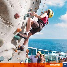 #royalfun Já imaginou a vista quando você chegar lá em cima? Clique na imagem e saiba mais sobre as experiências a bordo!