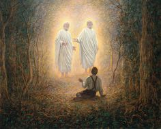 The first vision Joseph smith