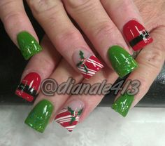 I want to use that bow for my next French manicure for Christmas :)
