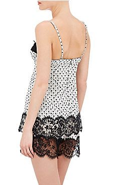 Lace-Inset Underwire Camisole