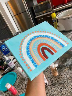 Small Canvas Paintings, Easy Canvas Art, Small Canvas Art, Easy Canvas Painting, Cute Paintings, Mini Canvas Art, Diy Painting, Canvas Painting Designs, Posca Art