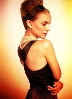 Natalie Portman. Beautiful. Audrey Hepburn-ish.