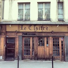 Lovely Pictures Of Paris' Charming Storefronts & Vintage Typographic Signage