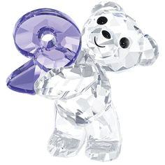 Swarovski Crystal Kris Bear Number Nine Figurine 5108731