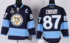 Buy Penguins 87 Crosby Blue 2011 Winter Classic Signature Edition Jerseys  from Reliable Penguins 87 Crosby Blue 2011 Winter Classic Signature Edition  ... e0eee9eea