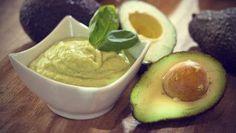 Avocado hair mask for frizzy hair #AvocadoEssentialOils #AvocadoHair Cream Recipes, Dip Recipes, Cooking Recipes, Tofu Recipes, Healthy Dips, Healthy Eating, Healthy Recipes, Healthy Skin, Healthy Food