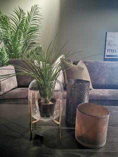 Table decoration from Bohus. Sofa. Sofa, Table Decorations, Settee, Couch, Couches, Dinner Table Decorations