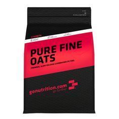 Pure Fine Oats - GoNutrition - Benefícios Chave - Fantástica fonte de hidratos de carbono de alta qualidade. - Baixo Índice Glicémico. - Ideal para quem está em fase de bulk.