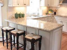 ideas for updating a small u shaped kitchen - Google Search