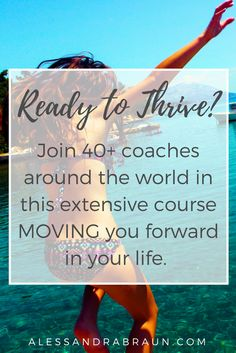A Course on THRIVING and gaining the forward momentum you need in your life to get UNSTUCK.