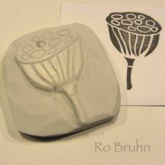 Ro Bruhn Art: Stocking my Etsy Les tampons à partir de vos gommes: un passe temps génial pendant les cours!