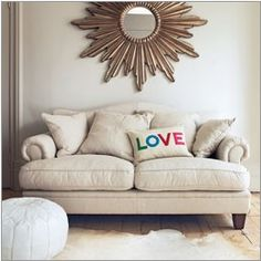 Find the perfect sofa to share with family, friends and furry creatures. With bespoke sofas and ready-to-buy options available. Buy Sofa, Green Sofa, Comfy Sofa, 2 Seater Sofa, Cozy House, Home Deco, Room Decor, Sunburst Mirror, Mirror Mirror