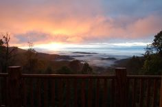 Beautiful luxury cabin in the mountains of North Carolina - long range views of the Blue Ridge Parkway  http://www.vrbo.com/306579