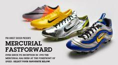 Nike Mercurial Fast Forward Pack.