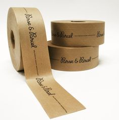 Custom kraft packing tape