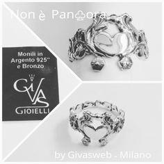 anello stile barocco con  carrozza per sentirsi sempre delle principesse .. in argento 925