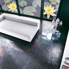 Fancy - Velvet 246 Neoglass Tiles by SICIS