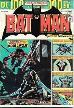 Image result for Batman Super-spectacular March April 1974 #255