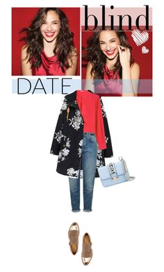 """""""Blind Date: Casual and Chic"""" by jpcarroll on Polyvore featuring moda, Joules, Agnona, Topshop, Valentino, The Office Of Angela Scott, women's clothing, women, female y woman"""