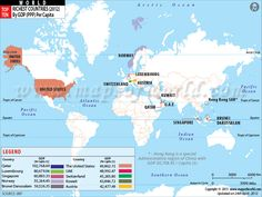 Top Ten Richest Countries of the World