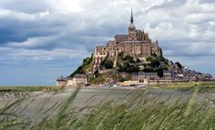 Mont St. Michel  Normandy, France