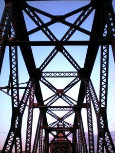 Fairview Lift Bridge, North Dakota - taken by AMSorell