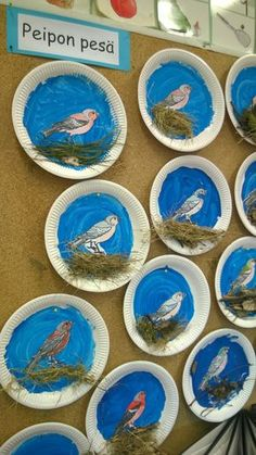 cute bird craft or art idea!