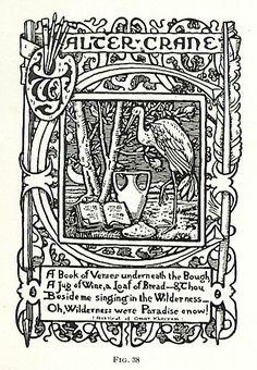 walter crane's bookplate