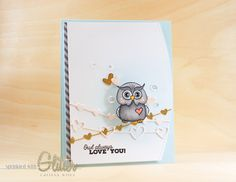 Sprinkled With Glitter: Owl Always Love You - Adding Details To Copic Coloring