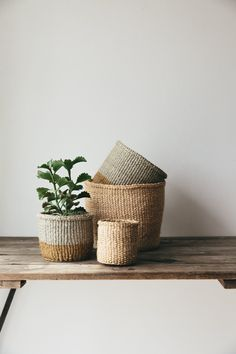 These beautiful Fairtrade storage baskets for the home are made using traditional techniques, that have been passed down through generations from Grandmother to Granddaughter.