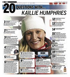 20 Questions with Kaillie Humphries