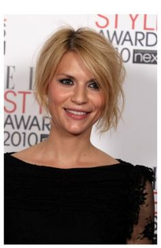 I love her bhair. I wish I could get away with the messy up do! Claire Danes