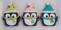 Sooo cute! ~penguin cookies