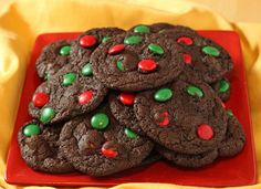 Chocolate-Mint Cookies and Christmas Biscotti