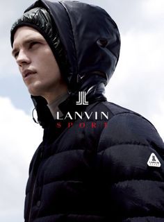 Benjamin Eidem by Gregory Harris for the Lanvin Sport Fall Winter 2014-2015 Campaign