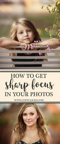 Better Pictures - Photography tips | Get super sharp focus in your photos every time following these simple tips. Read how here! To anybody wanting to take better photographs today