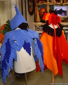 For a bird costume?