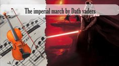 Partitura The imperial march by Dath vaders Violín