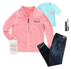 """""""Vineyard Vines Hoodie"""" by samanthacm ❤ liked on Polyvore featuring Vineyard Vines, American Eagle Outfitters, Sonix and Clinique"""