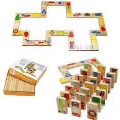 Dominoes Blocks Puzzles For Kids