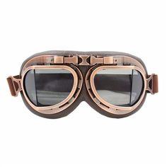 Steampunk Aviator Goggles -  - 2