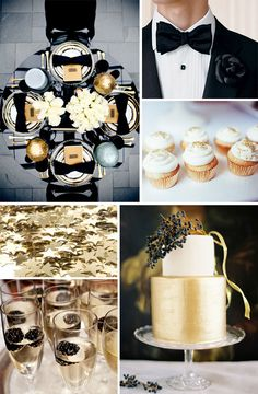 Wedding Inspiration: Black Tie Affair