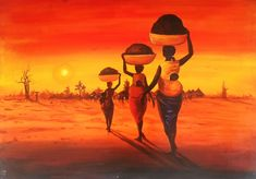 Black Art Painting, Star Painting, Painting Canvas, Ghana Art, African Themed Living Room, Crayon Drawings, African Art Paintings, Artist Wall, Tribal African