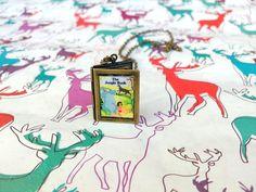 Disneys Jungle Book Book Art Locket Pendant by shadowsATmidnight, $15.00