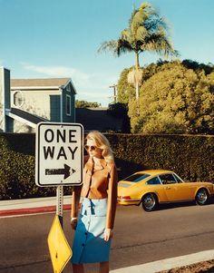 Lily Donaldson By Tom Craig For Porter #8 Summer 2015 Lily Donaldson, Toms, Porsche Models, Jonathan Saunders, Vintage Porsche, Madame, World Of Fashion, Women's Fashion, Fashion Models