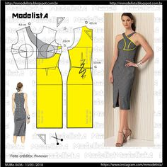 Amazing Sewing Patterns Clone Your Clothes Ideas. Enchanting Sewing Patterns Clone Your Clothes Ideas. Formal Dress Patterns, Wedding Dress Patterns, Dress Sewing Patterns, Clothing Patterns, Fashion Sewing, Diy Fashion, Costura Fashion, Modelista, Dress Tutorials