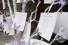 tableau de mariage ad albero lilla