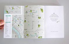 Portland's 100 Best Places to Stuff Your Faces book designed by Bureau of Betterment, Mette Hornung Rankin