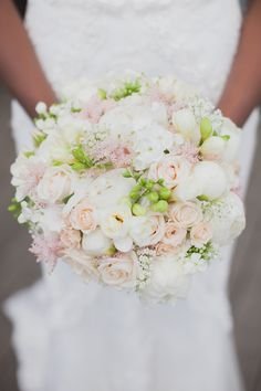 Pink Wedding Bouquet Inspiration Image by Hayley Savage #rockmyweddig
